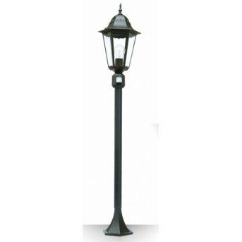 Lutec BRISTOL Illuminazione viale Nero, 1-Luce, Sensori di movimento