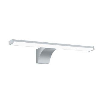 Eglo PANDELLA Lampada da specchio LED Cromo, Argento, 1-Luce, Sensori di movimento