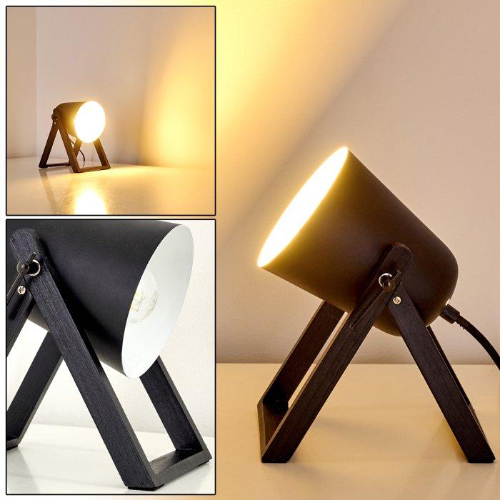 Novilly Lampada Da Tavolo Nero H3263730 Do1 Lampada It
