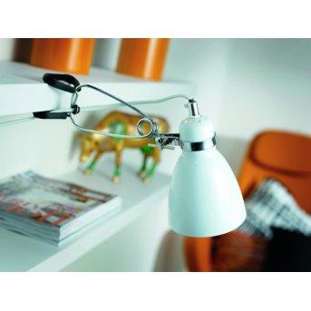 Nordlux CYCLONE Lampada con pinza Bianco, 1-Luce