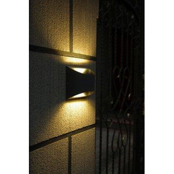 Lutec BONN Applique LED Antracite, 2-Luci