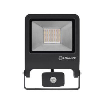 LEDVANCE POLYBAR Applique da esterno Grigio, 1-Luce, Sensori di movimento