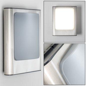 Kimola Applique da esterno LED Nichel opaco, 1-Luce