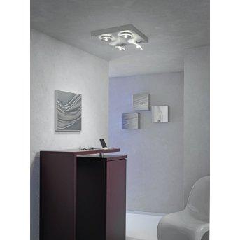 Escale SPOT IT Plafoniera LED Alluminio, 4-Luci