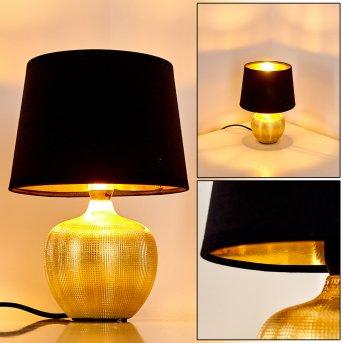 Stampa Lampada da Tavolo Oro, 1-Luce