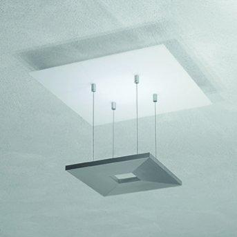 Escale ZEN D2W Plafoniera LED Antracite, Bianco, 4-Luci
