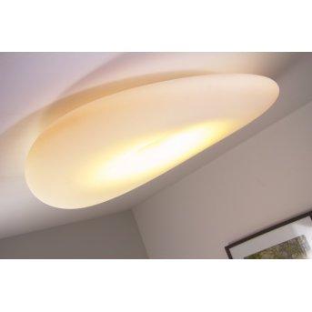 Linea Light Mr.Magoo Plafoniera Bianco, 1-Luce