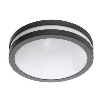 Eglo connect LOCANA Plafoniera LED Antracite, 1-Luce