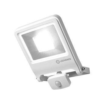 LEDVANCE POLYBAR Applique da esterno Bianco, 1-Luce, Sensori di movimento