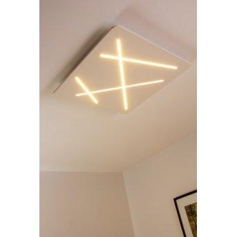 Linea Light Plafoniera LED Bianco, 1-Luce