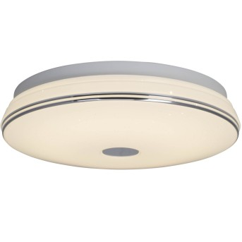 AEG Mondo Plafoniera LED Bianco, 1-Luce, Telecomando