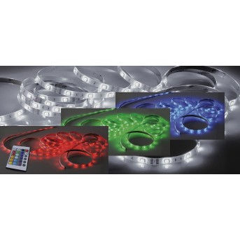 Paul Neuhaus TEANIA Striscia luminosa LED Colorato, 1-Luce, Telecomando, Cambia colore