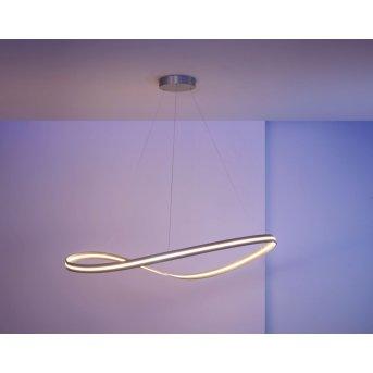 Escale Infinity Lampada a Sospensione LED Nichel opaco, 1-Luce