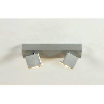 Bopp Elle Faretto da soffitto LED Alluminio, 2-Luci