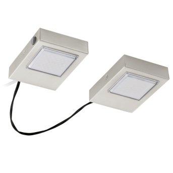 Eglo LAVAIO Lampada da incasso per cucina LED Nichel opaco, 2-Luci