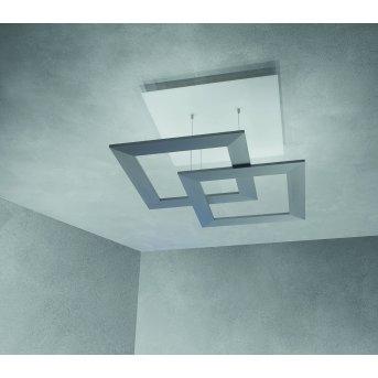 Escale ZEN D2W Plafoniera LED Grigio, 10-Luci