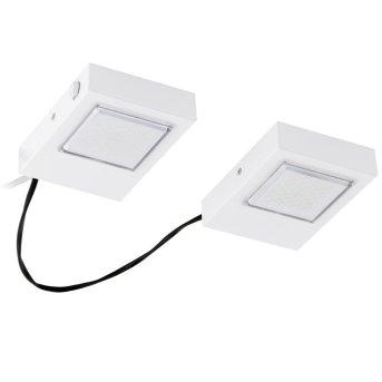 Eglo LAVAIO Lampada da incasso per cucina LED Bianco, 2-Luci