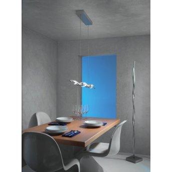 Escale SILK Lampada da terra LED Alluminio, 1-Luce