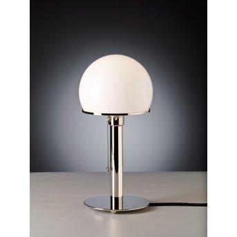 Tecnolumen Wagenfeld 24 Lampada da tavolo Nichel lucido, 1-Luce
