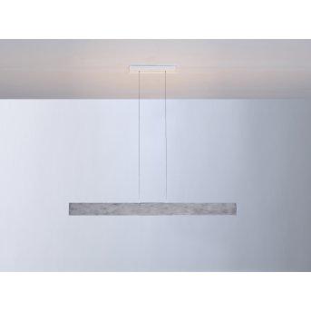 Escale VITRO Lampada a Sospensione LED Grigio, Alluminio, 1-Luce