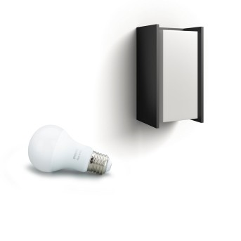 Philips Hue White Turaco Applique Antracite, 1-Luce