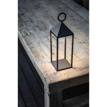Faro Barcelona Argus Lampada da Tavolo LED Antracite, 1-Luce