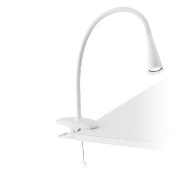 Faro Lena Lampada con pinza LED Bianco, 1-Luce