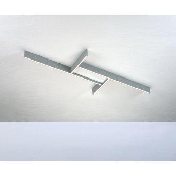 Bopp NANO PLUS BASIC Plafoniera LED Alluminio, Bianco, 1-Luce