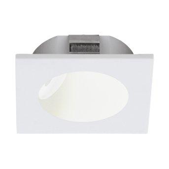Eglo ZARATE Lampada da incasso LED Bianco, 1-Luce
