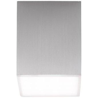 AEG Gillian Plafoniera LED Alluminio, 1-Luce