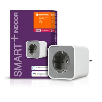 LEDVANCE SMART+ Presa elettrica Bianco, Telecomando