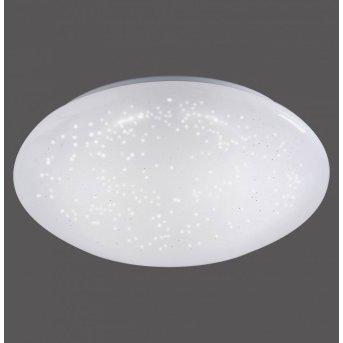 Leuchten-Direkt SKYLER Plafoniera LED Bianco, 1-Luce