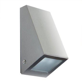 KS Verlichting Downlighter Applique Acciaio inox, 1-Luce