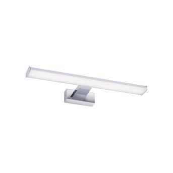 Lampada da specchio Leuchten Direkt MATTIS LED Cromo, 1-Luce