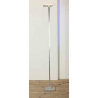 Bopp Flat Piantana LED Alluminio, 7-Luci
