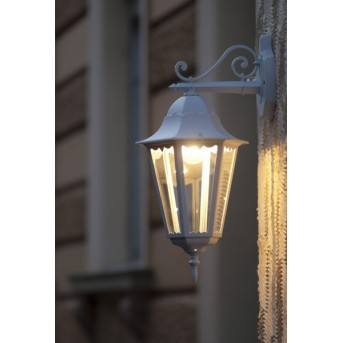 Lutec BRISTOL Applique per esterno Bianco, 1-Luce