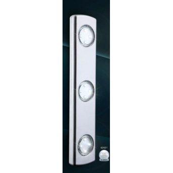 Globo SPOOKY Illuminazione sottopensile LED Argento, 3-Luci