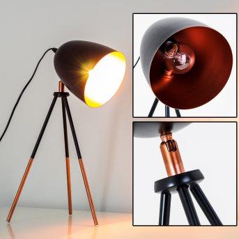 MONTREAL Lampada da Tavolo Nero, Ramato, 1-Luce