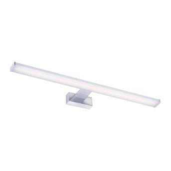 Leuchten Direkt MATTIS Lampada da specchio LED Cromo, 1-Luce