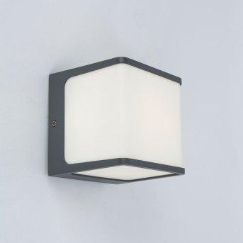 Lutec TELIN Applique da esterno Antracite, 1-Luce