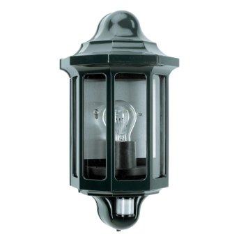 KS Verlichting Loreo Applique Verde, 1-Luce, Sensori di movimento