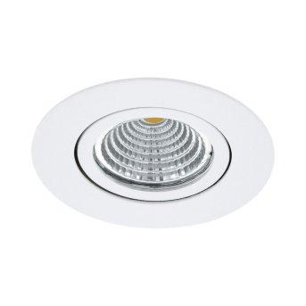 Eglo SALICETO Lampada da incasso LED Bianco, 1-Luce
