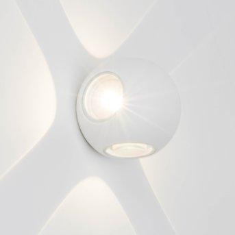 AEG Gus Applique da esterno LED Bianco, 4-Luci