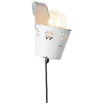 Brilliant Flower Ample Applique Bianco, 1-Luce