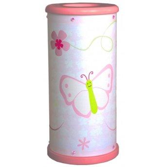 Waldi Papillon Lampada da tavolo Bianco, 1-Luce