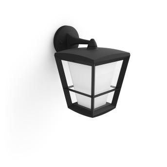 Philips Hue Ambiance White & Color Econic Applique LED Nero, 1-Luce, Cambia colore