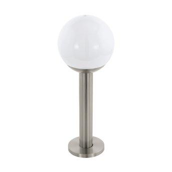 Eglo connect NISIA Lampada con piedistallo LED Acciaio inox, 1-Luce