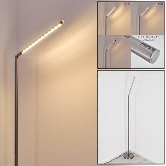 Deje Lampada da terra LED Nichel opaco, 1-Luce