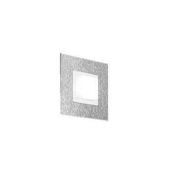 Grossmann BASIC Applique e plafoniera LED Alluminio, 1-Luce