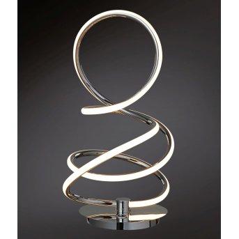 Wofi SOLLER Lampada da tavolo LED Cromo, 1-Luce